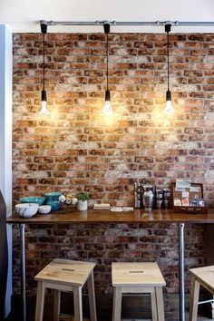 We love the atmosphere in The Deli At 80. The rustic feel combines harmoniously with Plumen's modern twist.