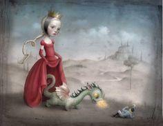 Nicoletta Ceccoli #illustration | OLDSKULL.NET
