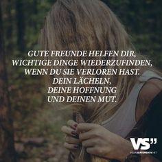 Freunde helfen dir...