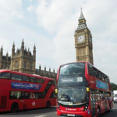 While in London - taking very touristy photos :smiley::sunglasses::sunny: #london #bigbang #londonbus #tourist #breenatravels @transportforlondon