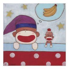Sweet Banana Dreams Poster
