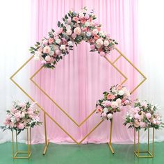 Geometrical shape stand / wedding backdrop/ Hex back drop/ Cereomy backdrop Wedding Stage Decorations, Backdrop Decorations, Backdrops, Wedding Table, Diy Wedding, Arch Wedding, Backdrop Wedding, Budget Wedding, Party Background