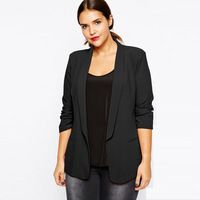 Rock George Fashion Style Women Blazers and Jackets Plus Big Size Office Work Blazer Suit Feminino Women Clothing Spring/Autumn