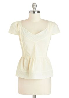 Tulle Clothing Let's Call It a Sway Top | Mod Retro Vintage Short Sleeve Shirts | ModCloth.com