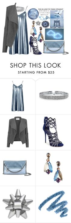 """Miss January"" by midnighthorse ❤ liked on Polyvore featuring Boohoo, Bling Jewelry, Amanda Wakeley, Giuseppe Zanotti, STELLA McCARTNEY, Schreiner, Martha Stewart, Yves Saint Laurent and Topshop"