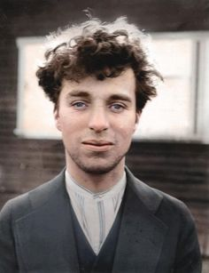 1916 Charlie Chaplin at the age of 27.