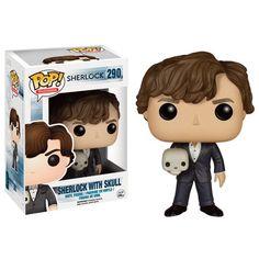 Sherlock with skull