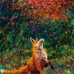 Oil Finger Paintings by Iris Scott