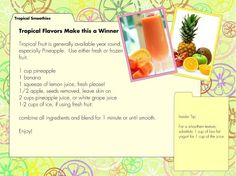 Vitamix Tropical Smoothie Recipes You Can Make At Home