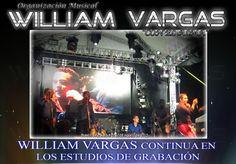 William Vargas - En estudios de grabación -  http://vallenateando.net/2012/08/08/william-vargas-en-estudios-de-grabacion-noticias-vallenato/ - #Noticias #Vallenato !