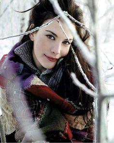 Liv Tyler, stunning, I just love her.