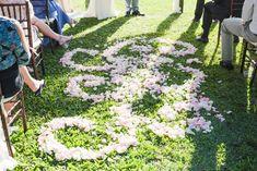 Bliss Maui Wedding - Love & Water Photography - petal path