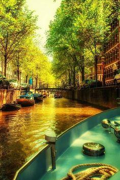 Amsterdamse grachten, Nederland…