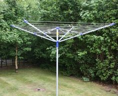 Home Laundry 50m Rotary Washing Line - rotary clothes dryer and airer for larger families who need more drying space.