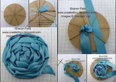 cloth flowers diy fabric roses how to make - cloth roses diy how to make - cloth flowers diy fabric roses how to make Ribbon Art, Fabric Ribbon, Ribbon Crafts, Flower Crafts, Ribbon Rose, Cloth Flowers, Fabric Roses, Diy Flowers, Paper Flowers