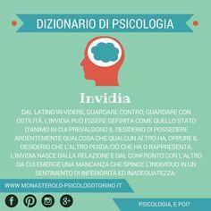 Dizionario di #Psicologia: #Invidia.