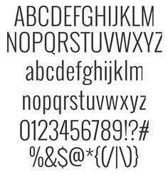 """A free font in 4 styles ... """"a nice, sturdy san serif font, Oswald. It's a bit condensed and very clean. This typeface comes in a family of four weights"""" ... Great for Project Life/scrapbooking captions & titles... (via designEDITOR) #free #font #download"""