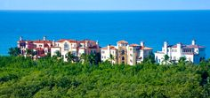 The Strand At Bay Colony is the only beachfront community offering estate homes in a separately guard-gated neighborhood of Pelican Bay. It is perhaps one of the most exclusive beachfront addresses in Naples Florida with only twelve residences.