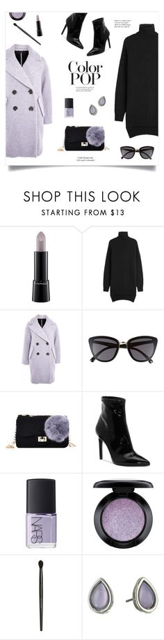 """Color Pop!"" by diane1234 ❤ liked on Polyvore featuring MAC Cosmetics, Isabel Marant, Topshop, BP., Jessica Simpson, NARS Cosmetics, Bare Escentuals, Rebecca Minkoff, colorpop and statementpiece"