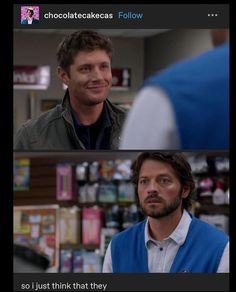 Supernatural Ships, Supernatural Pictures, Great Love Stories, Love Story, I Need A Hobby, Destiel Fanart, Fluffy Puff, Dean And Castiel, Winchester Brothers