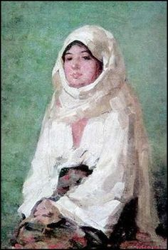 Nicolae Grigorescu - paintings-Peasant from Muscel Valley. Human Pictures, Modern Art Paintings, High Art, Famous Artists, Online Art Gallery, Female Art, Painting & Drawing, Original Artwork, Street Art