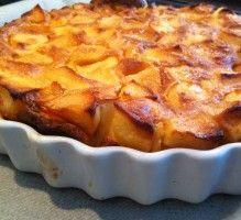 Recette - La flognarde aux pommes - Proposée par 750 grammes