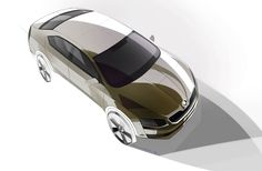 Skoda Octavia - Design Sketch - Car Body Design