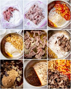Easy Mongolian Beef, Mongolian Beef Recipes, Halloumi, Boeuf Mongol, Brownies Caramel, Easy Chinese Recipes, Asian Recipes, Nutella, Plated Desserts