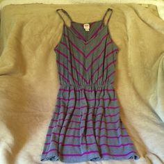Cute Summer Dress  Very Flattering & Cute Summer Dress or Wear With a T-shirt for Cooler Weather  Size says L but fits more like M/L  Mossimo Supply Co Dresses