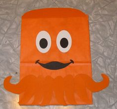 Octopus Treat Sacks - Ocean Sea Tropical Theme Birthday Party Favor Bags by jettabees on Etsy. $15.00, via Etsy.