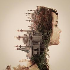 Incredible double exposure series – done in camera – by the talented Dan Mountford