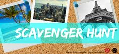 Win one of 4 Polaroid 300 Instant Camera and a  HERO3+ Silver Edition GoPro Camera with Cheapflights' Pinterest Scavenger Hunt!