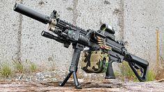 Machine Gun Armory's 300 Blackout SAW K unleashes a firestorm of fury!