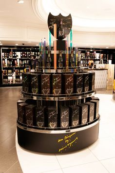 Retail Displays for Premium ChampagneBrands - b.log - Berry Place