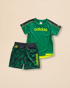 Adidas Infant Boys' Shock Energy Tee & Shorts Set - Sizes 12-24 Months