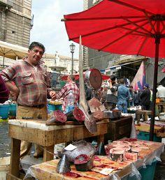 Catania fish market, Sicily  #catania  #sicilia #sicily