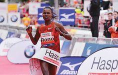 Standard Digital News : : GameYetu - Kenya's Georgina Rono holds fast to triumph in Hamburg Marathon in Germany