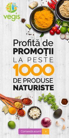 Promotii produse naturiste la Vegis