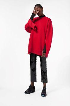 Weekday image 6 of July Sweatshirt in Red Dark