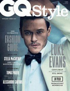 Luke Evans para GQ Style Alemania por Boo George