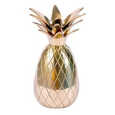 Brass Pineapple Candle Holder - Waiting On Martha - 1