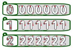 Actividades para Educación Infantil: Practicar la grafía del 0 al 9
