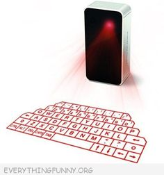 This is so cool! Awesome laser keyboard  - You Can Use Anywhere