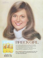 Breck Girl Susan Hood 1978 Ad Picture