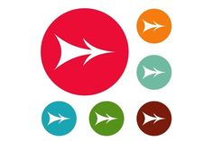 Surface Studio, Design Bundles, Icon Design, Arrow, Icons, Graphic Design, Products, Symbols, Ikon