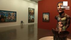 Exhibition of Markus Lüpertz from the Museum of Modern Art in Paris by The Museum Channel.
