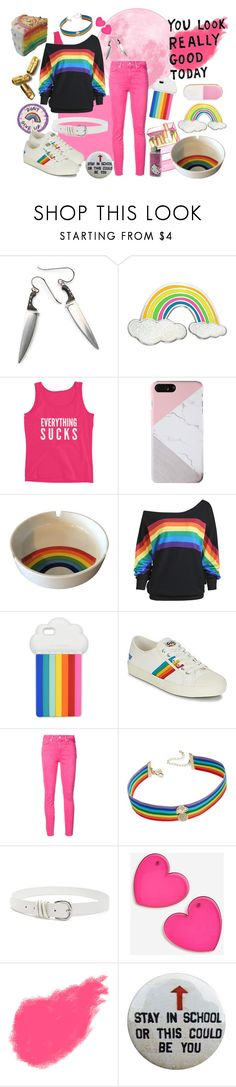 """""""Alex Smith 3"""" by soporslime ❤ liked on Polyvore featuring STELLA McCARTNEY, Gola, Paige Denim, INC International Concepts, Forever 21, Topshop, Bobbi Brown Cosmetics, Hello Kitty and ban.do"""