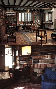 Rudyard Kipling, author. | 40 Inspiring Workspaces Of The Famously Creative