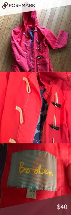 Boden Women's Raincoat Trench US 6 Gentle use, some variations in color.   Smoke free, pet friendly Boden Jackets & Coats Trench Coats