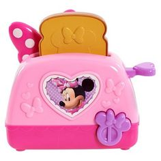 """Disney Minnie Mouse Mini Appliances - Toaster - Just Play - Toys""""R""""Us Little Girl Toys, Baby Girl Toys, Toys For Girls, Baby Boys, Little Girls, Minnie Mouse Kitchen, Minnie Mouse Toys, Lol Dolls, Barbie Dolls"""